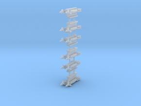 GBU-12 Paveway II 2-Rack in Smooth Fine Detail Plastic: 1:144