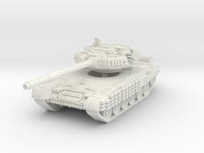 T-72 BV 1/76 in White Natural Versatile Plastic