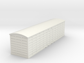 PBR NU Louvre Van(O/1:48 Scale) in White Natural Versatile Plastic