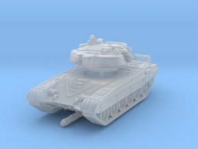 T-72 B 1/285 in Smooth Fine Detail Plastic