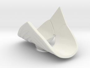 BITS Green Ranger Shield - Legacy in White Natural Versatile Plastic