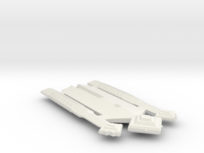 3788 Scale Ymatrian Broadsword Strike Carrier MGL in White Natural Versatile Plastic