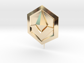 The Bazaar Merchant Pin in 14k Gold Plated Brass