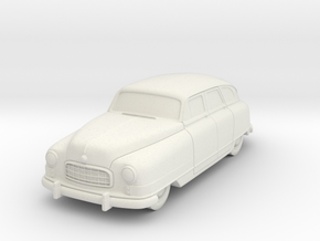 1949 Nash Ambassador 4 Door in White Natural Versatile Plastic
