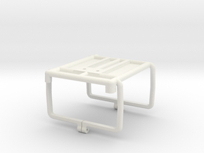 Geodimeter Radio cradle in White Natural Versatile Plastic