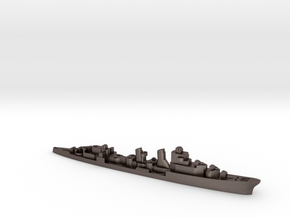 Spanish Mendez Nunez AA cruiser 1:2400 in Polished Bronzed-Silver Steel