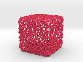 Islamic Woven Cube  in Pink Strong & Flexible Polished