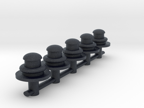 S Scale gas lamps  in Black PA12