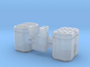 large missile container in Smooth Fine Detail Plastic