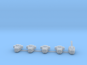5x pathfinder head in Smooth Fine Detail Plastic