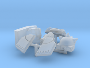 Mamba type remodeling set in Smooth Fine Detail Plastic
