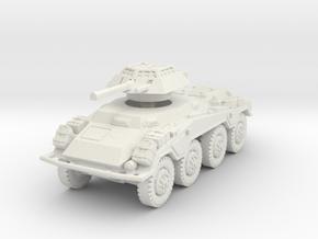 Sdkfz 234-1 late 1/76 in White Natural Versatile Plastic