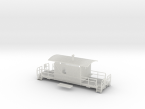 HO A&S Transition Caboose, Mythical in Smooth Fine Detail Plastic