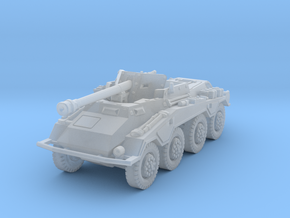 Sdkfz 234-4 1/200 in Smooth Fine Detail Plastic