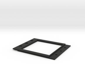 measuring device holder in Black Natural Versatile Plastic