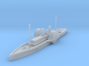 1/1000 USS Vanderbilt in Smooth Fine Detail Plastic
