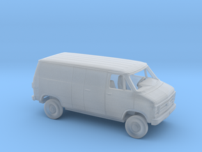 1-160 1979-83 Chevy G Delivery Split Side&Rear D. in Smooth Fine Detail Plastic