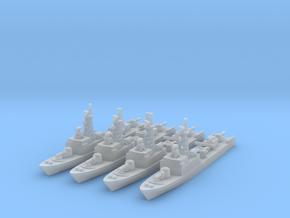 La Combattante III (FUD) in Smooth Fine Detail Plastic: 1:1200