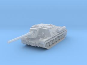 ISU-122 1/144 in Smooth Fine Detail Plastic