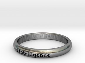 Ring of Intelligence in Antique Silver: 5 / 49