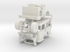 1/87 2019 Philadelphia Spartan MetroStar SQURT Cab in White Natural Versatile Plastic
