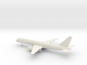 Boeing 757-200 in White Natural Versatile Plastic: 1:350