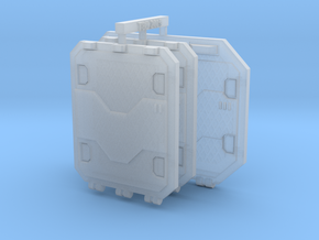 Repulsor Rear and Side Hatch extra armour SET 2 in Smoothest Fine Detail Plastic