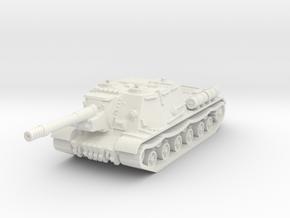 ISU-152 1/76 in White Natural Versatile Plastic