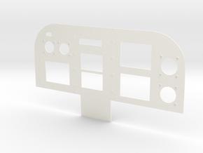 1.4 EC120 DASH BOARD in White Processed Versatile Plastic