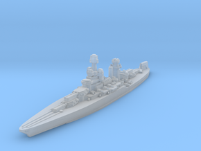 Maryland Battleship 1942 1/2400 in Smooth Fine Detail Plastic