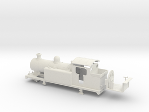 LBSCR E6-X - LBSC body in White Natural Versatile Plastic: 1:76 - OO