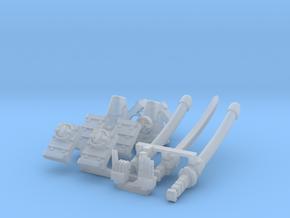 1x Samurai Upgrade for a PLASTICS Iguana type in Smooth Fine Detail Plastic