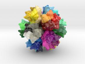 Model for ADDomer™ Protein in Glossy Full Color Sandstone