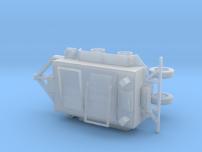 1/64th Roofing Tar Kettle Trailer in Smooth Fine Detail Plastic