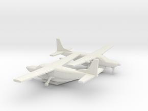 Cessna 208B Grand Caravan in White Natural Versatile Plastic: 6mm