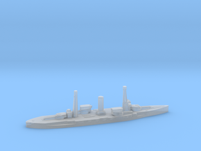 Spanish Alfonso XIII battleship 1920 1:3000 in Smoothest Fine Detail Plastic