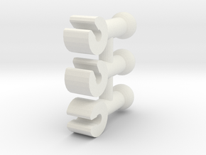 yf29 head pin protos in White Natural Versatile Plastic