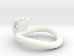 Cherry Keeper Ring - 46mm -3° in White Processed Versatile Plastic