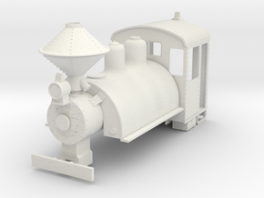b-35-baldwin-0-6-0-saddletank-loco in White Natural Versatile Plastic