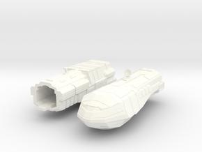 2500 Carrack Light Cruiser in White Processed Versatile Plastic