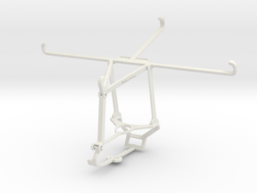Controller mount for Steam & Huawei MediaPad M6 Tu in White Natural Versatile Plastic