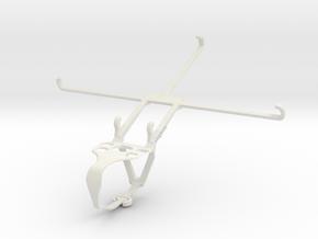 Controller mount for F710 & Huawei MediaPad M6 Tur in White Natural Versatile Plastic
