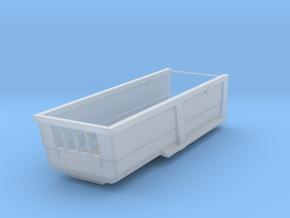1/87 HO Kippmulde 22m³, 6,5m Länge, 1,5m Bordwand in Smooth Fine Detail Plastic