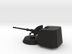 1/72 scale Bergimini Gun in Black Natural Versatile Plastic