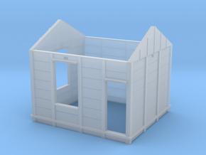 "HO PC RHD 15"" Panel Signal Box Walls in Smooth Fine Detail Plastic"