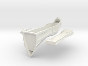 Demon Coffin 28mm in White Natural Versatile Plastic: 28mm