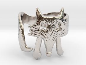 Foxy Ring in Platinum