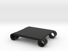 U2 Monitor Rails Bracket - 85mm in Black Natural Versatile Plastic