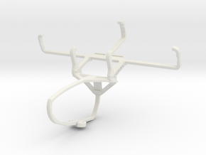Controller mount for Switch Pro & Nokia 800 Tough  in White Natural Versatile Plastic