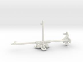 Nokia 800 Tough tripod & stabilizer mount in White Natural Versatile Plastic